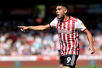 Neal Maupay scorer of Brentford's opening goal during Brentford vs Rotherham United, Sky Bet EFL Championship Football at Griffin Park on 4th August 2018