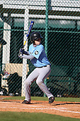 December 28, 2009:  Coty Jutze (7) of the Baseball Factory Tar Heels team during the Pirate City Baseball Camp & Tournament at Pirate City in Bradenton, Florida.  (Copyright Mike Janes Photography)