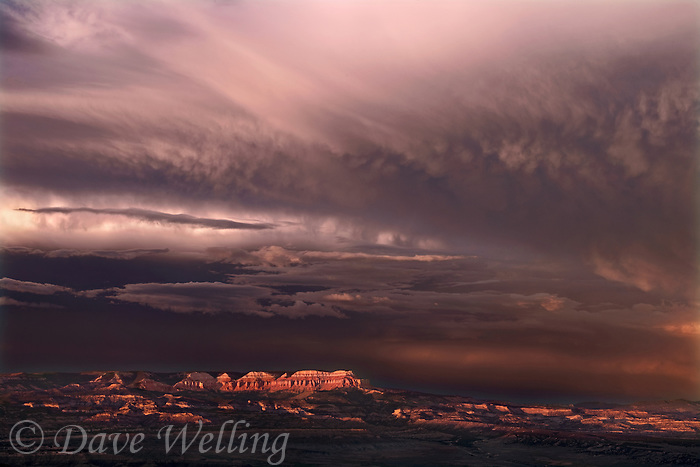 730750199a a summer thunderstorm breaks over the aquarius plateau and bryce canyon national park utah in this view from bryce point lookout