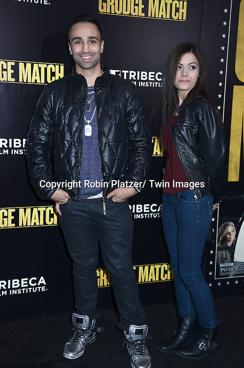 """Paulie Malignaggi attends the World Premiere of """"Grudge Match"""" at the Ziegfeld Theatre in New Yok City on December 16, 2013."""