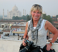 Alison in Rajasthan