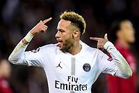 celebration de NEYMAR JR (PSG) apres son goal<br /> Parigi 28-11-2018 <br /> Paris Saint Germain - Liverpool Champions League 2018/2019<br /> Foto JB Autissier / Panoramic / Insidefoto <br /> ITALY ONLY