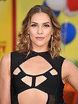 WESTWOOD, CA - AUGUST 09: Dancer Allison Holker arrives at the Premiere Of Sony's 'Sausage Party' at Regency Village Theatre on August 9, 2016 in Westwood, California.