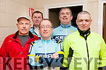 Kerry Crusaders Cyclying Event : taking part in the Kerry Crusaders cycle around North Kerry & West Limerick on Sunday last were Jurgen Bliesson, Liam  daly, Billy Keane-Stack, Con Lynch & Eddie Barrett.