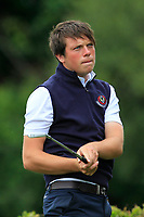 Eric Rumley (Kinsale) on the 15th tee during the AIG Barton Shield Munster Final 2018 at Thurles Golf Club, Thurles, Co. Tipperary on Sunday 19th August 2018.<br /> Picture:  Thos Caffrey / www.golffile.ie<br /> <br /> All photo usage must carry mandatory copyright credit (© Golffile   Thos Caffrey)
