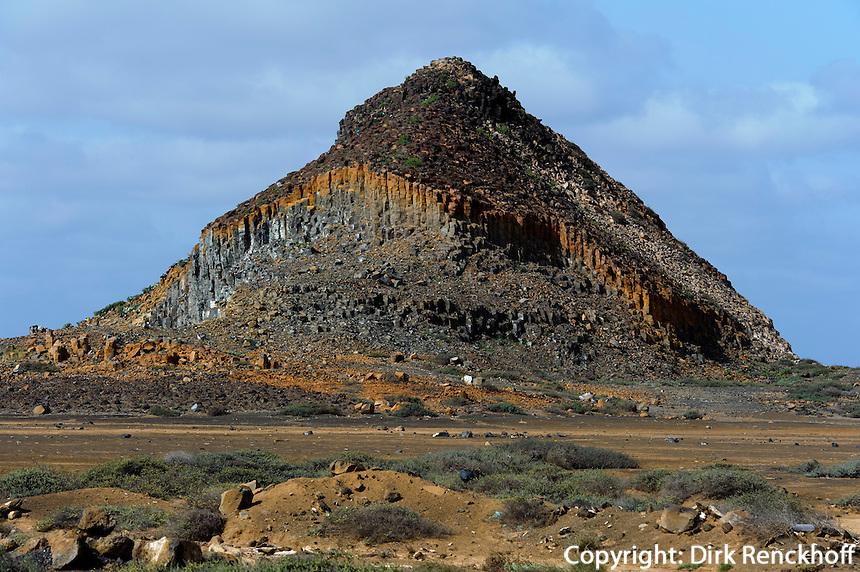 Vulkan Morrinho de Acucar, Sal, Kapverden, Afrika