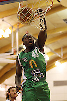 Manawatu import Jamil Terrell during the NBL Round 5 match between the Manawatu Jets  and Auckland Stars at Arena Manawatu, Palmerston North, New Zealand on Friday 10 April 2009. Photo: Dave Lintott / lintottphoto.co.nz