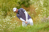 Marc Leishman (AUS) hits from the tall grass near the green on 6 during round 2 of the 2019 US Open, Pebble Beach Golf Links, Monterrey, California, USA. 6/14/2019.<br /> Picture: Golffile | Ken Murray<br /> <br /> All photo usage must carry mandatory copyright credit (© Golffile | Ken Murray)