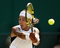 1-7-06,England, London, Wimbledon, fourth round match,  Nadal