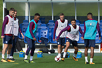 Kyle Walker during the part open training session of the  England national football squad at St George's Park, Burton-Upon-Trent, England on 31 August 2017. Photo by James Williamson.