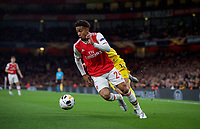 Reiss Nelson of Arsenal during the UEFA Europa League match between Arsenal and Standard Liege at the Emirates Stadium, London, England on 3 October 2019. Photo by Andrew Aleks.