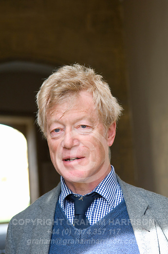 Roger Scruton, philosopher, at Christ Church during the Sunday Times Oxford Literary Festival, UK, 24 March - 1 April 2012. ..PHOTO COPYRIGHT GRAHAM HARRISON .graham@grahamharrison.com.+44 (0) 7974 357 117.Moral rights asserted.