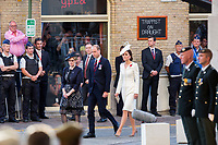 Duke & Duchess Of Cambridge  : Third Battle of Ypres Commemorations : Belgium