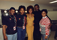 Whitney (2018) <br /> MICHAEL HOUSTON, ROBYN CRAWFORD, WHITNEY HOUSTON, GRAY HOUSTON, ELLEN &quot;AUNT&quot; BAE&quot; WHITE<br /> *Filmstill - Editorial Use Only*<br /> CAP/FB<br /> Image supplied by Capital Pictures