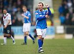 St Johnstone v Rangers...14.01.12  .Jody Morris.Picture by Graeme Hart..Copyright Perthshire Picture Agency.Tel: 01738 623350  Mobile: 07990 594431