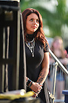 SUNRISE, FL - DECEMBER 21: Jesy Nelson of Little Mix backstage watching her boyfriend Charley Bagnall of the band Rixton performs at Y100's Jingle Ball Village, Y100's Jingle Ball 2014 official pre-show at BB&T Center on December 21, 2014 in Sunrise, Florida.  (Photo by Johnny Louis/jlnphotography.com)