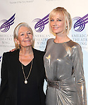 Vanessa Redgrave & Joely Richardson attends the American Theatre Wing's annual gala at the Plaza Hotel on Monday Sept. 24, 2012 in New York.