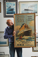 Advertising poster for the Titanic 109 years after it was printed tipped to sell for £30K