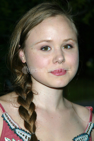Alison Pill arriving at the Public Theater's Annual Gala and the Opening Night performance of ROMEO & JULIET at Shakespeare in the Park at the Delacorte Theater in Central Park, New York, New York.  June 19, 2007 © Joseph Marzullo / MediaPunch
