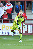11/08/2015 Capital One Cup, First Round Fleetwood Town v Hartlepool United<br /> Chris Maxwell