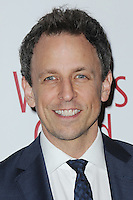 www.acepixs.com<br /> February 19, 2017  New York City<br /> <br /> Seth Meyers attending the 69th Writers Guild Awards New York Ceremony at Edison Ballroom on February 19, 2017 in New York City.<br /> <br /> Credit: Kristin Callahan/ACE Pictures<br /> <br /> <br /> Tel: 646 769 0430<br /> Email: info@acepixs.com