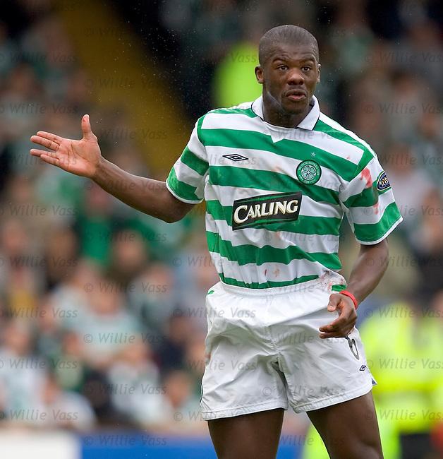 Bobo Balde, Celtic.stock season 2004-2005.pic willie vass