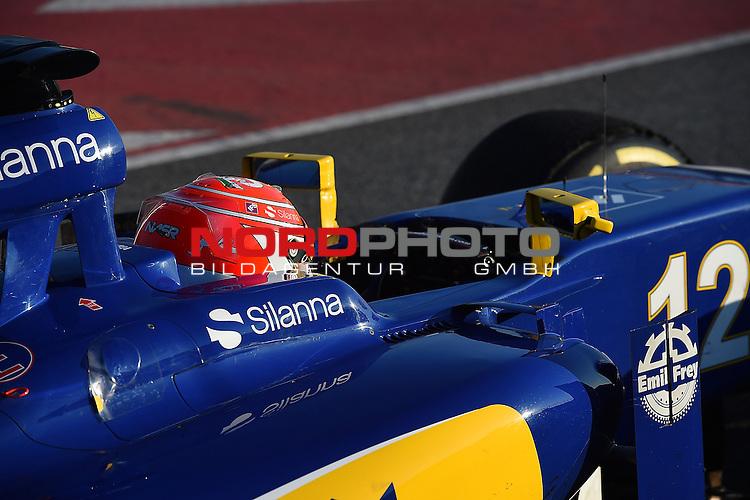 Formel 1 Testfahrten 2016 in Barcelona<br /> Felipe Nasr (BRA#12) Sauber F1 Team<br /> <br /> <br /> Foto &copy; nordphoto /  Bratic