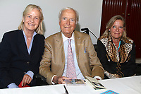 Heikedine Körting und Martin Böttcher mit Tochter Betsy Schlüter beim Karl-May-Filmfest 2016 im Vitalia Seehotel. Bad Segeberg, 02.07.2016