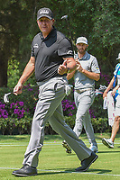 Phil Mickelson (USA) gives the gallery a thumbs up as he departs 17th tee during the preview of the World Golf Championships, Mexico, Club De Golf Chapultepec, Mexico City, Mexico. 2/28/2018.<br /> Picture: Golffile | Ken Murray<br /> <br /> <br /> All photo usage must carry mandatory copyright credit (&copy; Golffile | Ken Murray)