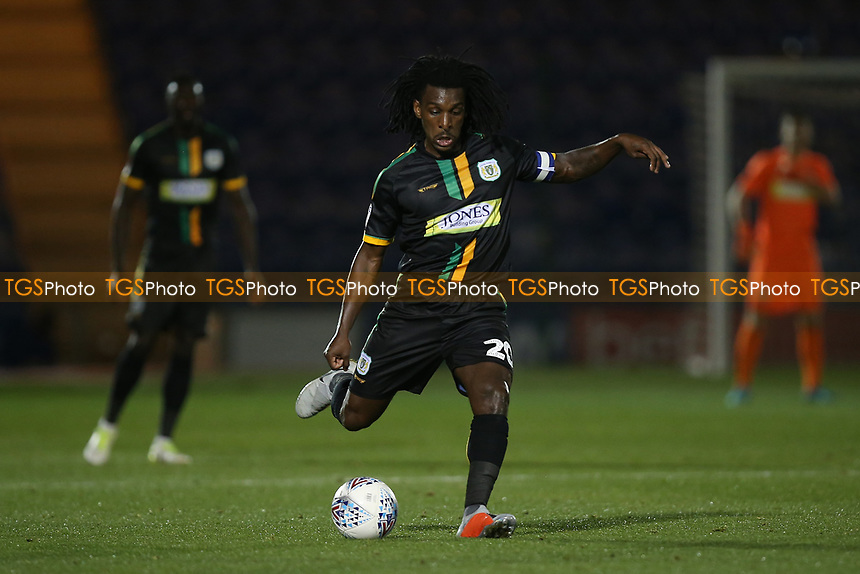 Sessi D'Almeida of Yeovil Town during Colchester United vs Yeovil Town, Sky Bet EFL League 2 Football at the JobServe Community Stadium on 2nd October 2018