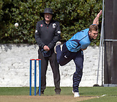 Issued by Cricket Scotland - Tilney Regional Series - Knights V Warriors - Grange CC - Richie Berrington - picture by Donald MacLeod - 28.04.19 - 07702 319 738 - clanmacleod@btinternet.com - www.donald-macleod.com