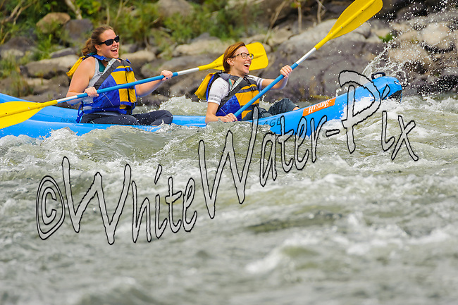 Sage Outdoor Adventures crashing Cable Rapid while floating the Upper Colorado River from Rancho Del Rio to State Bridge on the afternoon of September 6, 2014.
