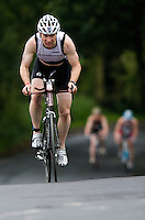 06 JUL 2008 - WAKEFIELD, UK - Matt Shillabeer - British Age Group Triathlon Championships. (PHOTO (C) NIGEL FARROW)