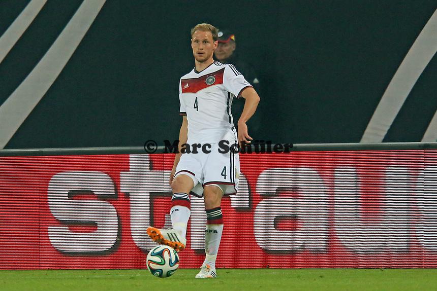 Benedikt Höwedes (D) - Deutschland vs. Polen, WM-Vorbereitung Testspiel, Imtech Arena Hamburg