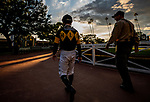 MAR 07: Umberto Rispoli at Santa Anita Park in Arcadia, California on March 7, 2020. Evers/Eclipse Sportswire/CSM