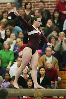 17 February 2006: Heather Purnell during Stanford's win over the University of Arizona at Burnham Pavilion in Stanford, CA.