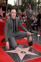Jim Parsons, Chuck Lorre<br /> at the Jim Parsons Star on the Hollywood Walk of Fame, Hollywood, CA 03-11-15<br /> David Edwards/DailyCeleb.Com 818-249-4998