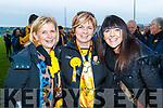Breda Cronin, Bridget Clarke and Joanie Sexton Dr Crokes Supporters pictured after the County final at Austin Stack Park on Sunday.