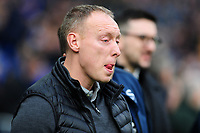 Steve Cooper Head Coach of Swansea City during the Sky Bet Championship match between Cardiff City and Swansea City at the Cardiff City Stadium in Cardiff, Wales, UK. Sunday 12 January 2020