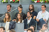 Sara Verdasco sister of Fernando Verdasco during the match of the Charity day previus at Madrid Open Tenis 2017in  Madrid, Spain. May 04, 2017. (ALTERPHOTOS/Rodrigo Jimenez) /NORTEPHOTO.COM
