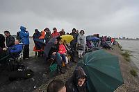 ZEILEN: LEMMER: Lemster baai, 11-08-2016, SKS skûtsjesilen, ©foto Martin de Jong
