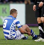 Nederland, Zwolle, 13 april 2012.Jupiler League.Seizoen 2011-2012.Joey van den Berg van FC Zwolle