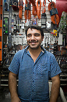 Carlos Ivan Favela Cabrera. Hardware store owners in Culiacan, Sinaloa,  Mexico