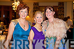 Pictured at Kerry Fashion Weekend awards held in the Carlton hotel, Tralee on Saturday evening, were l-r: Eileen Kennedy Carley (Tralee) Sandra Kearney (Tralee) Mary O'Neill (Killorglin).