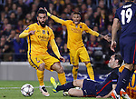 05.04.2016 Barcelona. Uefa Champions League Quarter-finals 1st leg. Game between FC Barcelona agaisnt Atletico de Madrid at Camp Nou. Picture show Arda Turan