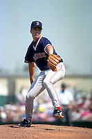 Boston Red Sox pitcher Paul Quantrill during Spring Training 1993 at McKechnie Field in Bradenton, Florida.  (MJA/Four Seam Images)