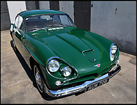 BNPS.co.uk (01202 558833)<br /> Pic: JensenMuseum/BNPS<br /> <br /> This old Jensen CV-8 may lead Aston Martin fan's shaken and stirred - because its the car Sean Connery chose to drive at the height of his fame in the 1960's<br /> <br /> He is inextricably linked with Aston Martin but just as Sean Connery reached the peak of his 007 career it seemed the Scot in him influenced his decision to buy a cheaper, lesser-known sports car.<br /> <br /> The James Bond actor snubbed an Aston Martin DB5 that he famously drove in Goldfinger in 1965 for a second-hand Jensen CV8 car.<br /> <br /> It is thought he preferred nearly-new cars as they were less expensive and plumped for the Jensen CV8 as its British racing green bodywork was the same colour as his favourite football team Celtic.<br /> <br /> Now the 1964 CV8 that Connery owned and drove in the late 1960s has emerged for sale for &pound;135,000.