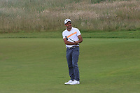 Edoardo Molinari (ITA) on the 5th during Round 1 of the Aberdeen Standard Investments Scottish Open 2019 at The Renaissance Club, North Berwick, Scotland on Thursday 11th July 2019.<br /> Picture:  Thos Caffrey / Golffile<br /> <br /> All photos usage must carry mandatory copyright credit (© Golffile | Thos Caffrey)