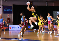 4th July 2020, Auckland, New Zealand;  Karin Burger.<br /> Central Pulse versus Southern Steel. ANZ Premiership Netball. Auckland Netball Centre, Saturday 4 July 2020.