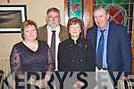 PIctured at the Kerry County Council machinery department Christmas Party in the Heights hotel, Killarney on Saturday night were Patricia O'Leary, Ted O'Leary, Mary O'Donoghue and Flor O'Donoghue.....